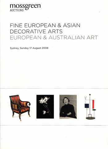Image for Fine European & Asian Decorative Arts, European & Australian Art (Auction Catalogue)