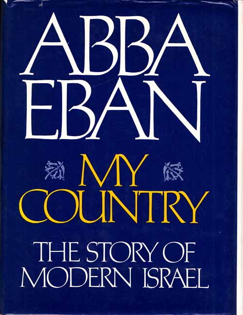 Image for My Country: The Story of Modern Israel