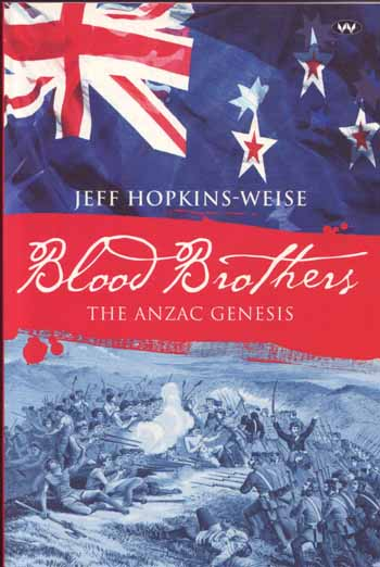 Image for BLOOD BROTHERS. The Anzac Genesis