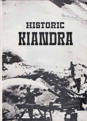 Image for HISTORIC KIANDRA: A Guide to the History of the District