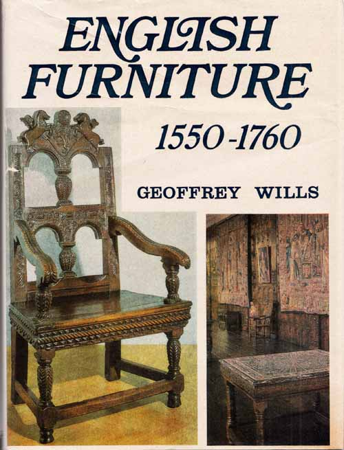 Image for English Furniture 1550-1760
