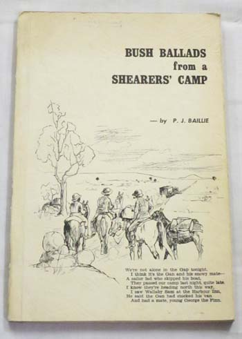 Image for Bush Ballads from a Shearers'  Camp