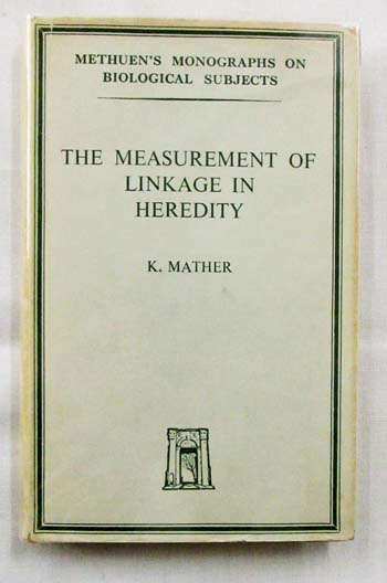 Image for The Measurement of Linkage in Heredity
