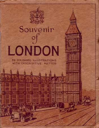 Image for Souvenir of London 32 Coloured Illustrations with Descriptive Matter