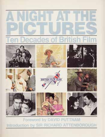 Image for A Night at the Pictures Ten Decades of British Film