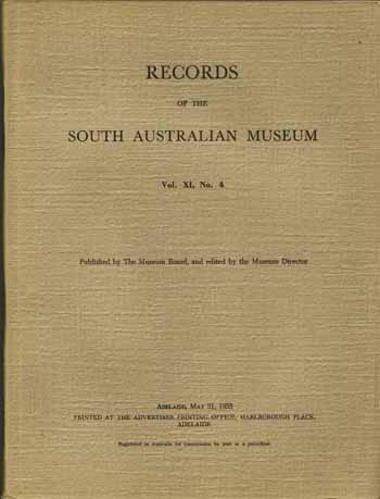 Image for Records Of The South Australian Museum Vol. Xl. No 4, May 31 1955