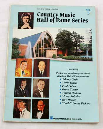 Image for Country Music Hall of Fame Volume 5 Piano Vocals Guitar