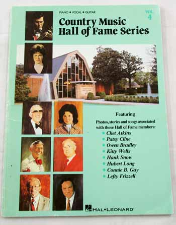 Image for Country Music Hall of Fame Volume 4 Piano Vocal Guitar