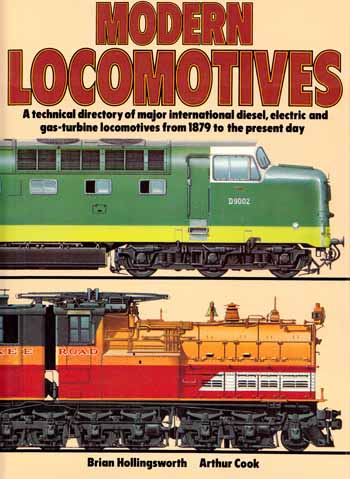 Image for The Illustrated Encyclopedia of the World's Modern Locomotives: A technical directory of major international diesel, electric and gas-turbine locomotives from 1879 to the present day