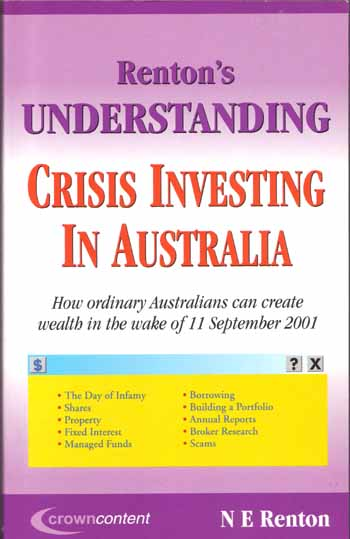Image for Renton's Understanding Crisis Investment in Australia