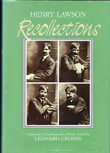 Image for Recollections: A Selection of Autobiographical Works