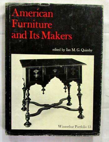 Image for American Furniture and its Makers
