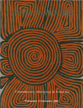 Image for Contemporary, Aboriginal & Tribal Art [Auction Catalogue]