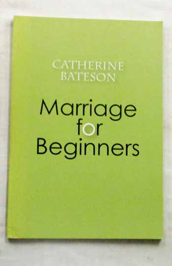 Image for Marriage for Beginners and Other Poems