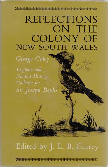 Image for Reflections on the Colony of New South Wales
