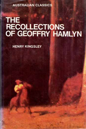 Image for The Recollections of Geoffrey Hamlyn