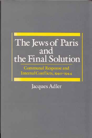 Image for The Jews of Paris and the Final Solution