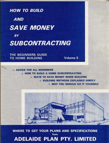 Image for How To Build And Save Money by Subcontracting