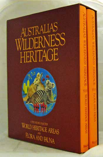 Image for Australia's Wilderness Heritage. Two Volumes. Volume 1: World Heritage Areas. Volume 2: Flora And Fauna.