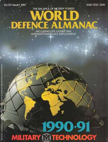 Image for World Defence Almanac [Military Technology Vol. XV 1991]