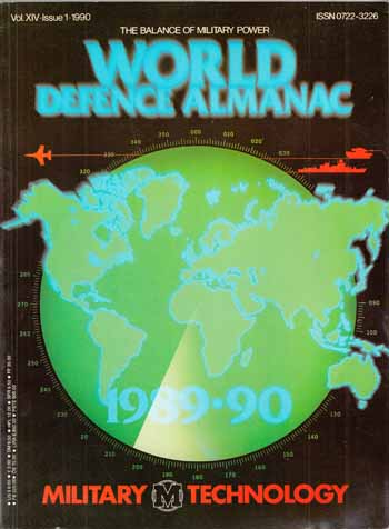 Image for World Defence Almanac [Military Technology Vol. XIV 1990]