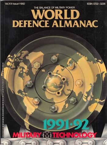 Image for World Defence Almanac [Military Technology Vol. XVI 1992]