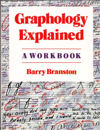 Image for Graphology Explained. A Work Book