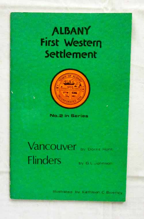 Image for Albany. First Western Settlement No 2 in Series. Vancouver & Flinders