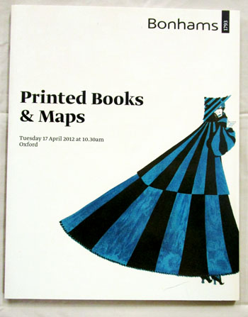 Image for Printed Books & Maps Tuesday 17 April 2012 Oxford