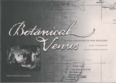 Image for Botanical Venus.  Daniel Solander in New Holland