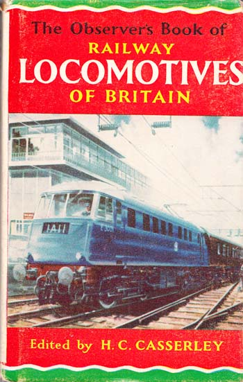 Image for The Observer's Book of Railway Locomotives of Britain