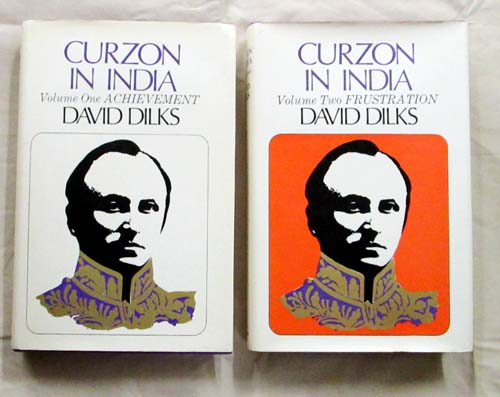 Image for Curzon in India.  Volume One Achievement, Volume Two Frustration  [2 Volumes]