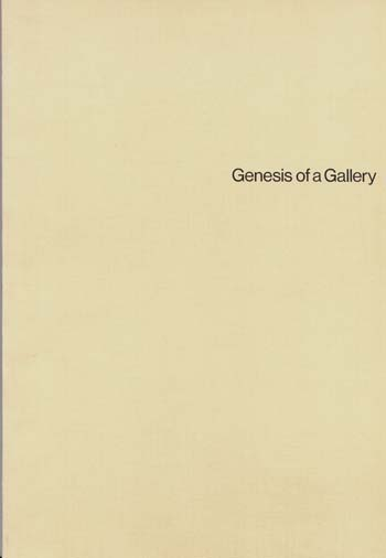 Image for Australian National Gallery Genesis of a Gallery