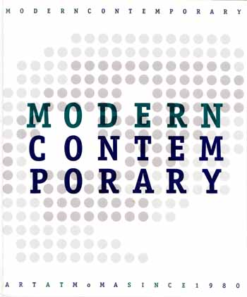 Image for Modern Contemporary Art at MoMA Since 1980