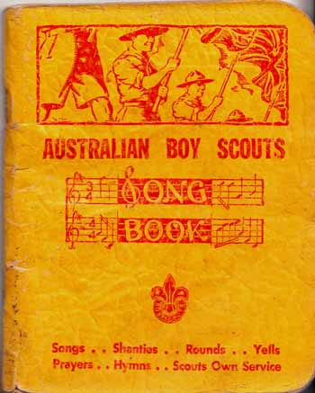 Image for Australian Boy Scouts Song Book