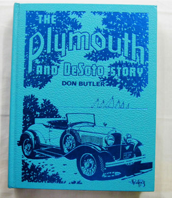 Image for The Plymouth and DeSoto Story