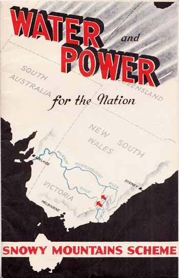 Image for Water and Power For the Nation.  Snowy Mountains Scheme