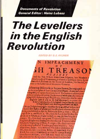 Image for The Levellers in the English Revolution [Documents of the Revolution Series]
