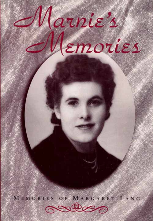 Image for Marnie's Memories.  Memories of Margaret Lang
