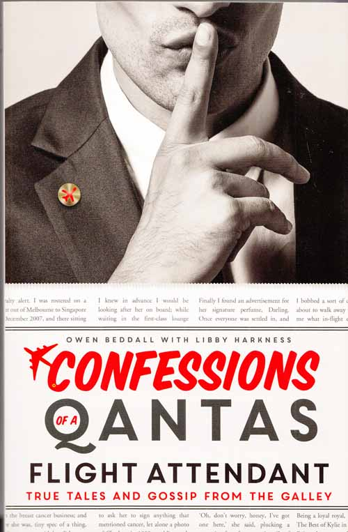Image for Confessions of a Qantas Flight Attendant