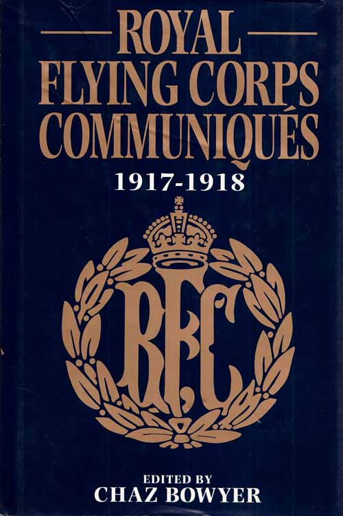 Image for Royal Flying Corps Communiques 1917-1918