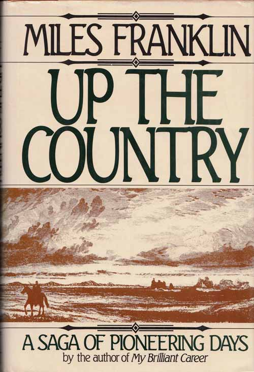 Image for Up The Country A saga of pioneering days