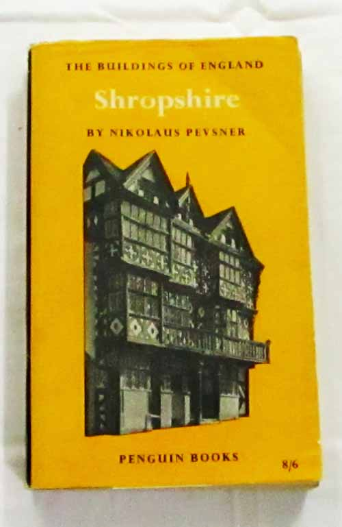 Image for Shropshire (The Buildings of England)