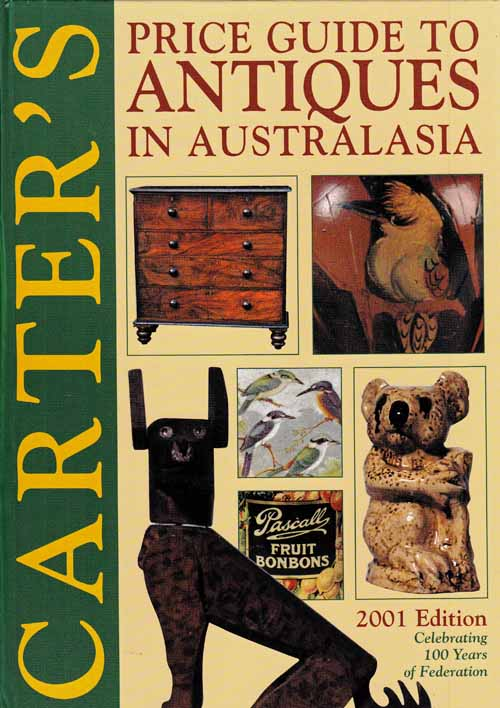 Image for Carter's Price Guide to Antiques in Australasia 2001 Edition