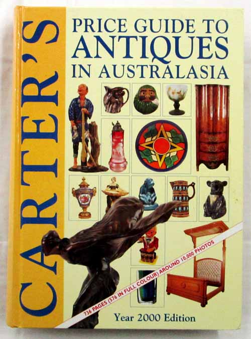 Image for Carter's Price Guide to Antiques in Australasia. 2000 edition