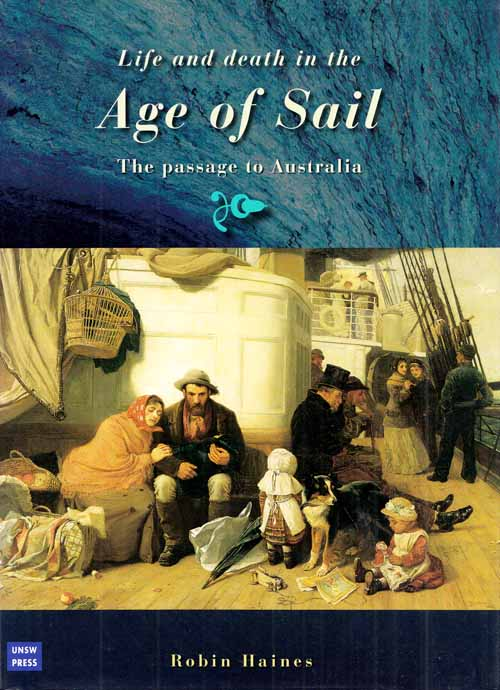 Image for Life and Death in the Age of Sail. The passage to Australia