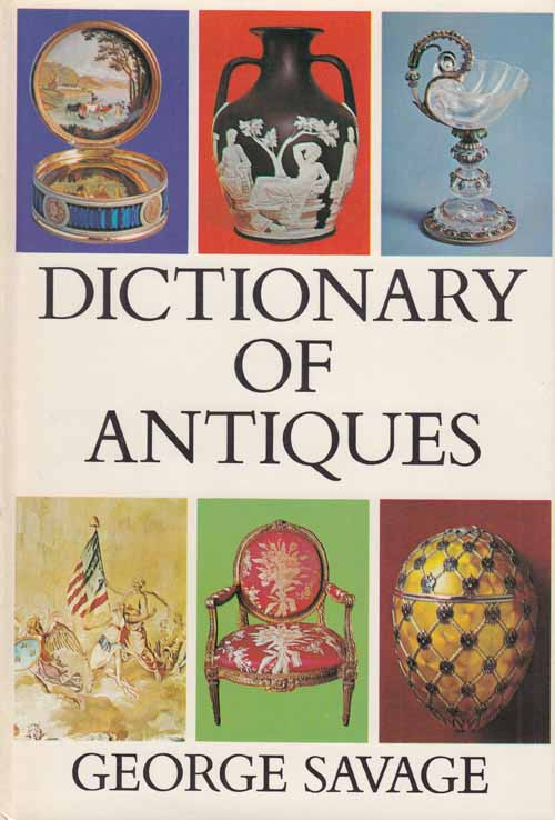 Image for Dictionary of Antiques.