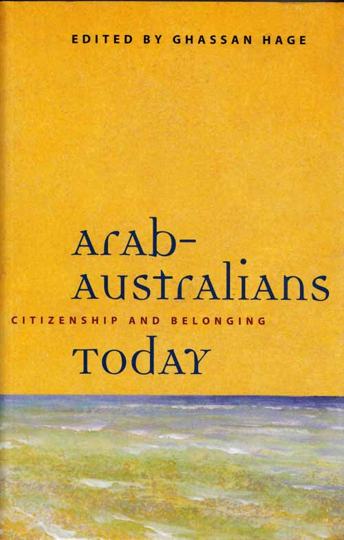 Image for Arab-Australians Today Citizenship and Belonging [Signed]