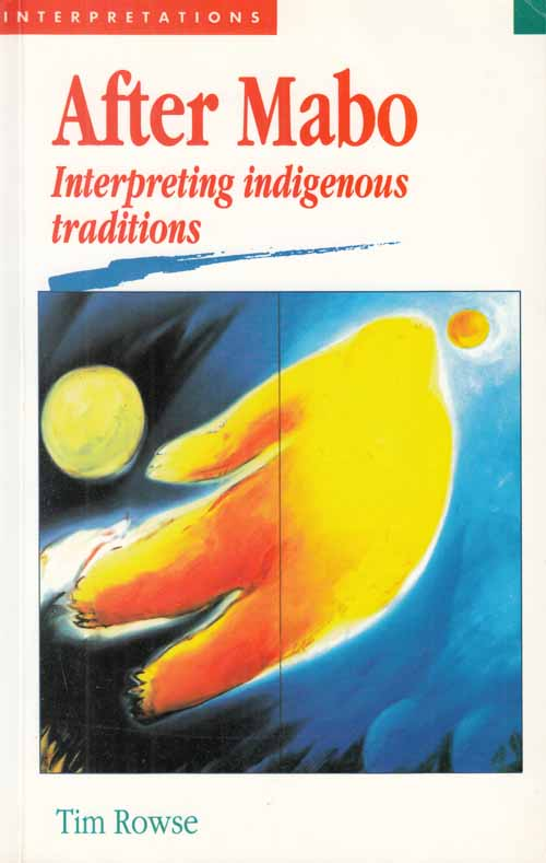 Image for After Mabo.  Interpreting indigenous traditions.