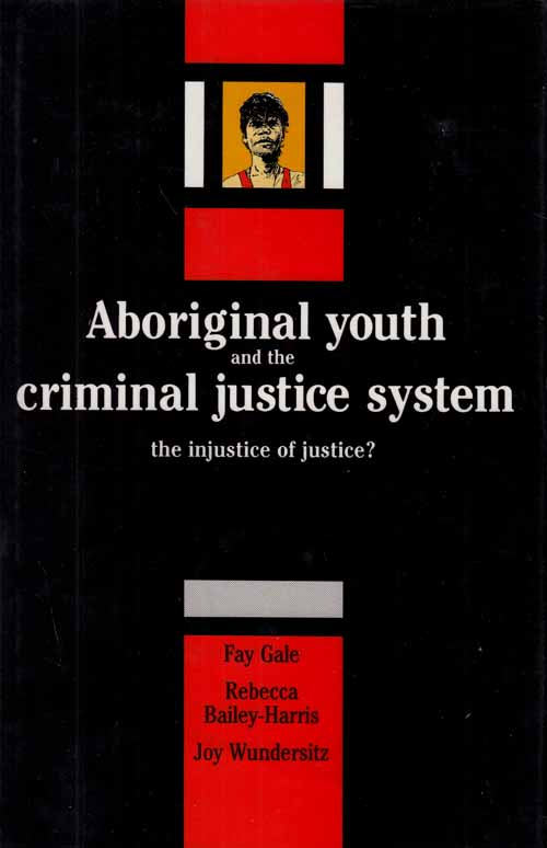 Image for Aboriginal Youth and the Criminal Justice System.  The injustice of Justice?